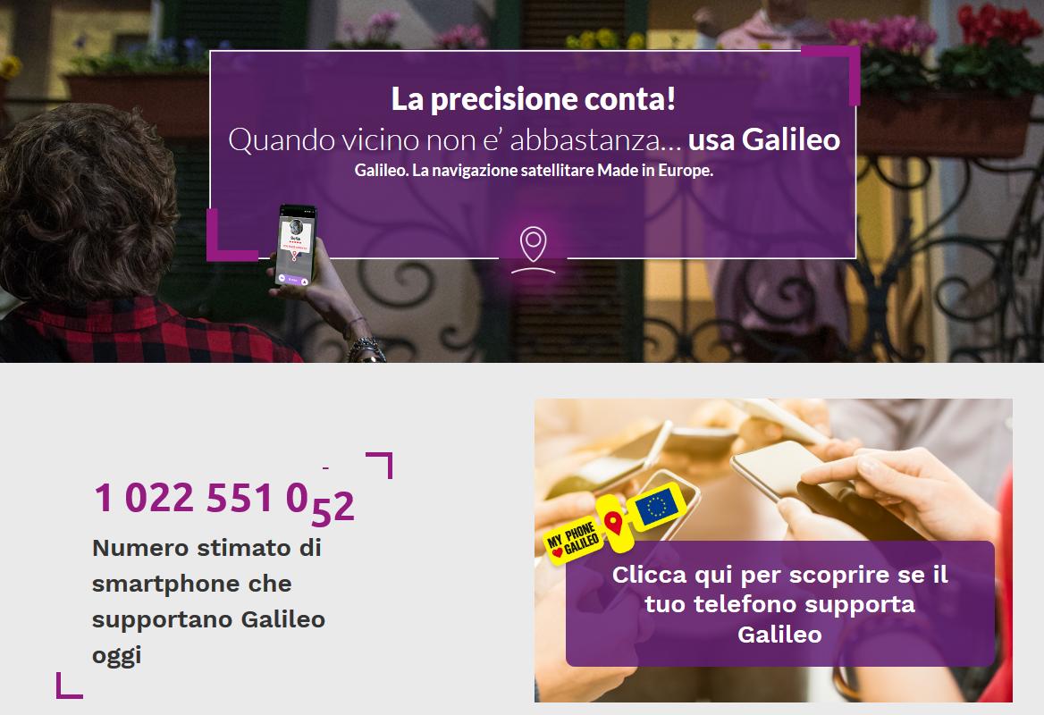 smartphone galileo